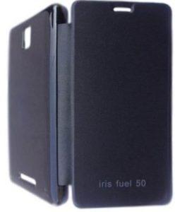 Flip Cover for Lava Iris Fuel 50