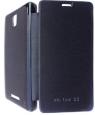 Flip Cover for Lava Iris Fuel 50