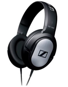 Sennheiser HD 180(Black, Over the Ear)