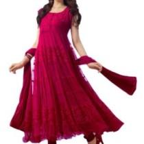 Shreeji Fashion Brasso, Net Self Design Semi-stitched Salwar Suit Dupatta Material