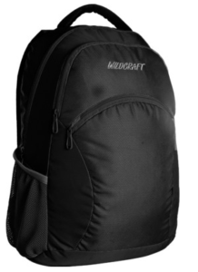 Wildcraft Ace 21 L Laptop Backpack(Black, Size - 18)