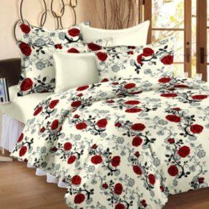 Ahmedabad Cotton Fl Double Bedsheet