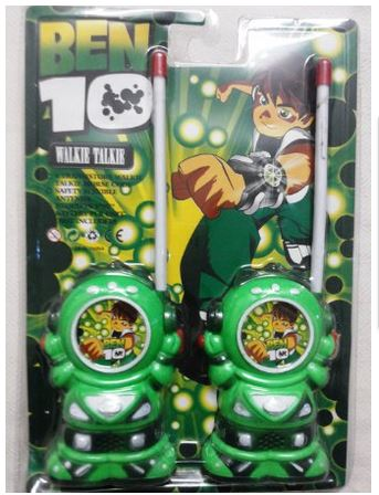 Ben10 -Wireless Walkie Talkie For Kids battery operated radio control RC Toy