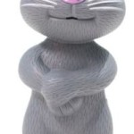 CY Intelligent Touch Talking Tom Cat Toy With Recording (Grey) Price: Rs. 299