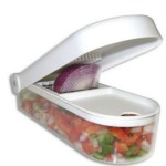 Ganesh Vegetable & Fruit Chopper Cutter With Chop Blade & Cleaning Tool