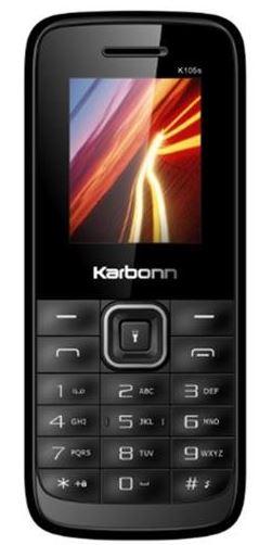 Karbonn K105s (Black + Red)