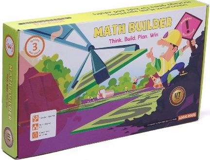 Math strategy board game - MATH BUILDER.