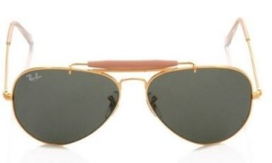 best selling ray ban aviators  ray ban aviator sunglasses (golden)