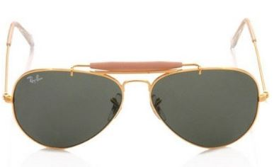 Best Selling Ray-Ban Aviator Sunglasses (Golden) Online