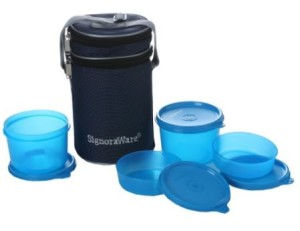 Signoraware Executive Lunch Box - 180 ml, 450 ml Plastic Food Container