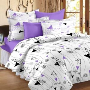 Story @ Home Cotton Floral King Bedsheet