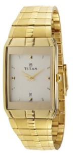 Titan Karishma Analog Gold-Color Dial Men's Watch