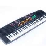 Toyzstation 54 Key Musical Key Board(Black)