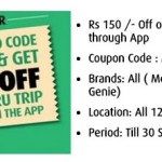 meru cabs first ride offer online Rs 150 OFF