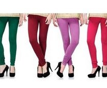 2DAY's Cotton Lycra Legging (Pack Of 6)