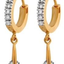 Alysa CZ Stone Drop Earrings