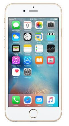 Apple iPhone 6S 16 GB (Golden) - Rs 6000 Cashback