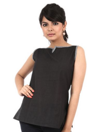 Buy Flipkart Offer Avignya Casual Solid Women's Kurti Price @ Rs. 114