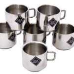 Buy Flipkart Offer : BM Decent Stainless Steel Mug(150 ml, Pack of 6)
