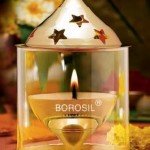 Buy Amazon.in Offer Borosil Akhand Diya (Medium, Brass)