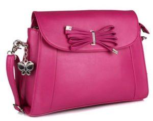 Butterflies Pink Cross Body Sling Bag