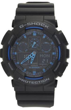 Casio G-Shock Analog-Digital Blue Dial Men's Watch