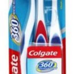 Amazon Deal : Colgate 360 Whole Mouth Clean Toothbrush (Buy 2 get 1 Saver) @ Rs 124