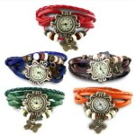 Askmebazaar : Combo Of 5 Women Vintage Bracelet Watches @ Rs 499
