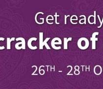 Cracker of a diwali