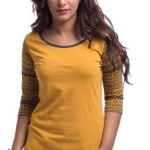 Cult Fiction Solid Women's Round Neck T-Shirt Price: Rs. 599