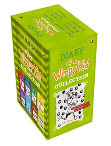 Diary of a Wimpy Kid (Set of 8 Books) (English)