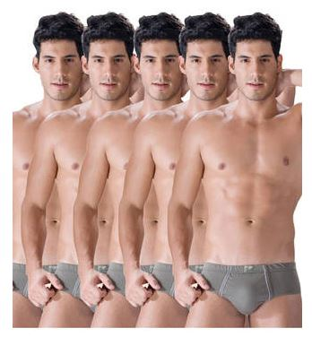 PayTM : Dollar Assorted Cotton Briefs- Pack Of 5