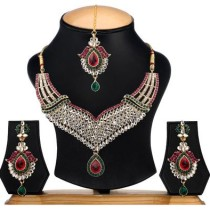 Ethnic Jewels EY-374 Alloy Jewel Set