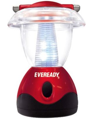 Eveready Mini Jumbo HL04 6-LED Home Light (Red and White)