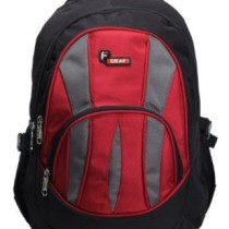 F Gear Adios Backpack, Black & Red