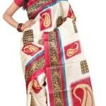Fashion Trendz Printed Daily Wear Art Silk Sari @ Rs 229