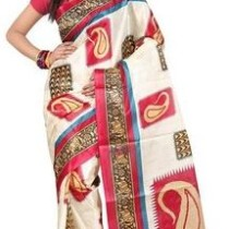 Fashion Trendz Printed Daily Wear Art Silk Sari