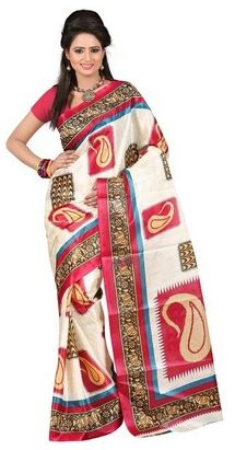 trenze silk saree