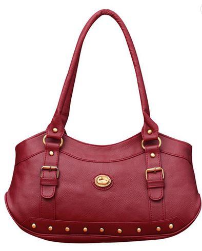 Snapdeal   Fostelo Magenta Castle Handbag online india   Best deals ... 3ef392288c