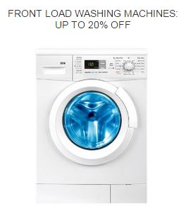 Buy Amazon india offering Front Loading Washing Machines UP TO 20% OFF discounts online