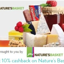 Get 10 cashback on Natures Basket