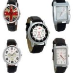 PayTM Offer : Gledati Black Analog Watch Set Of 5 @ Rs 349