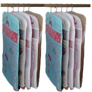Indi Bargain Kota Doria Combo of 10 Floral Single Saree Cover