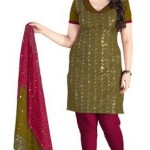Buy Flipkart Offer Jiya Crepe Self Design, Embroidered Salwar Suit Dupatta Material (Unstitched) @ Price: Rs. 199