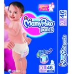 Amazon Offer : Mamy Poko Pant Style Diaper Extra Large – (46 pieces) @ Rs 510