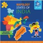 Mapology : States of India