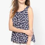 Mayra Party Sleeveless Printed Women's Top Price: Rs. 399