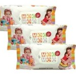 Amazon Offer : Mee Mee Baby Wet Wipes (3 Packs, 80 Sheets per Pack) @ Rs 297