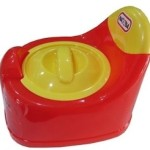 Nayasa Lid Potty Seat (Red, Yellow)
