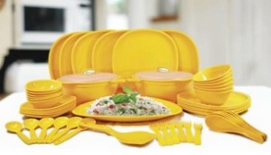 Oliveware Pack of 56 Dinner Set(Polypropylene)